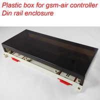 Plastic box din rail enclosure for GSM-AIR