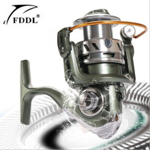 FDDL Metal 12+1 axis without clearance bearings Fishing Reel Speed ratio 5.2:1 Spinning Fishing Reels Type Reel roller sea rod