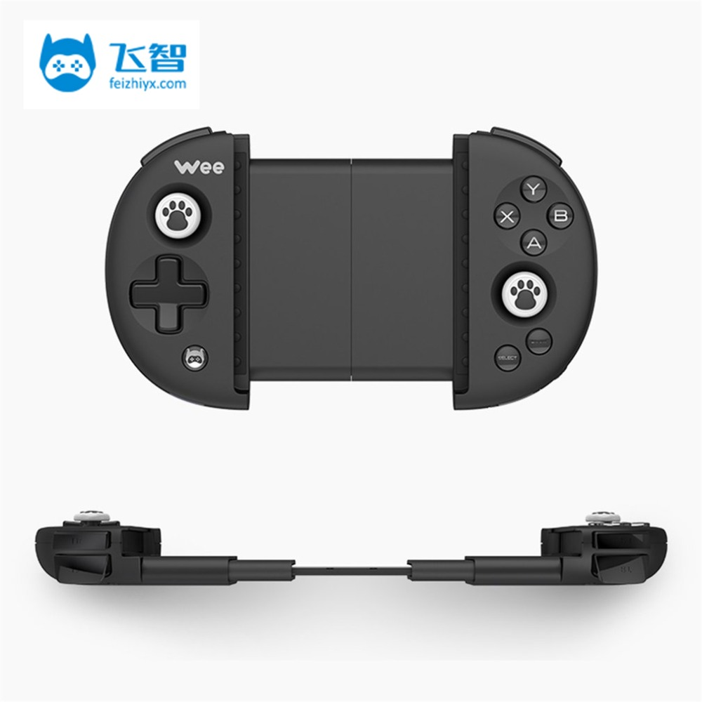 цена на FlyDiGi Wee For Xiaomi Wireless Bluetooth Gamepad Android Game Controller Gaming Joystick For Samsung Huawei Mate 10
