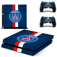 Olympique de Marseille droit au but PS4 Skin Sticker Decal Vinyl for Playstation 4 Console and 2 Controllers PS4 Sticker