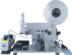 100% Warranty pneumatic square labeling machine, phone box labeling machine