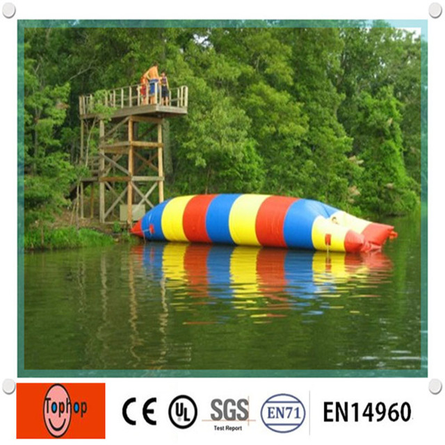 Inflatable Lake Toys Floating Water Pillow Water Blob for