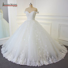 Amanda Chen wedding dress 2019 robe de soiree ball gown