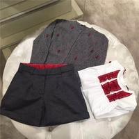 Baby Girl T Shirt Off Shoulder Ruffles Tops Spring Autumn Long Sleeve Kids Girls Tops Ladybug