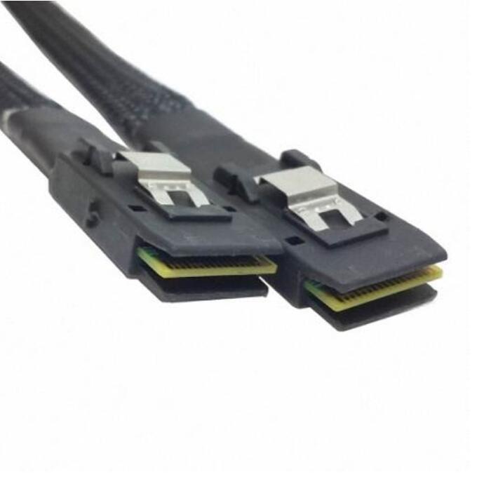 """מפתחות ושלטים מיני פנימי SAS 36Pin SFF-8087 ל מיני SAS 36pin Raid דיסק קשיח שרת SFF-8087 כבל נתונים 70 ס""""מ (3)"""