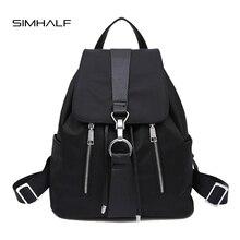 SIMHALF New Brand 2017 Women Backpack Waterproof Nylon Lady Women's Backpacks Female Casual Travel Bags mochila escolar feminina