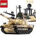 60019A Новый Военный Танк Серии WW2 России Т-62 основных боевых танков модель Строительный Блок Классические игрушки Совместимые с legoed