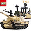 60019A New Military Tank Series WW2 Russia The T-62 main battle tanks model Building Block Classic toys Compatible with legoed