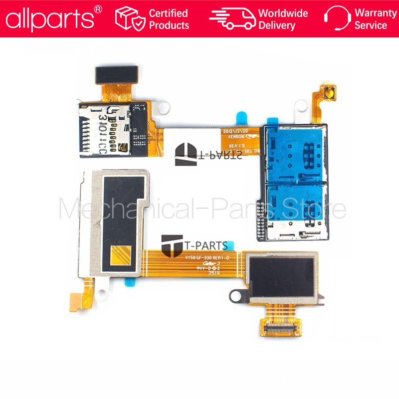 T Parts Warranty Dual SIM CARD Flex Cable For SONY Xperia
