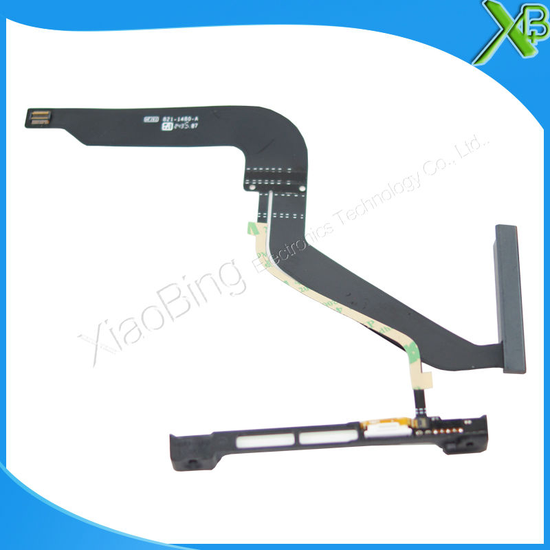 Brand NEW HDD Hard Drive Disk Cable with Bracket For Macbook Pro A1278 13.3 MD101 MD102 Hdd calbe 821-1480-A 2012Year for hp1100 t1100ps t610 40g hard drive hdd formatter without new q6683 67027 q6683 67030 q6684 60008 q6683 60193 q6683 60021