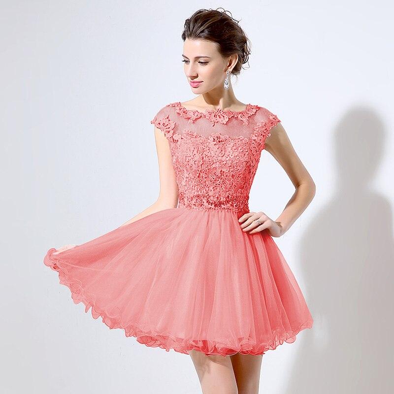 Asombroso Vestidos De Coral Para Prom Viñeta - Ideas de Estilos de ...