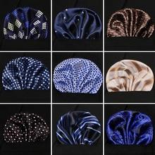 Newest style Mens Pocket Square Flower Hankerchief Scarves Vintage Linen Paisley Hankies Handkerchiefs 23*23 cm