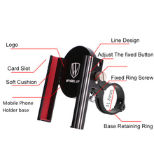 Bike Accessories Bycicle Smartphone Mobile Phone Holder Universal Electric Bicycle Frame Navigation Support Gps for Motorcycle