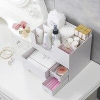 Makeup Box Makeup Brush Storage Organizer Makeup Makeup Storage Desk Organizers Cosmetic Storage Plastic