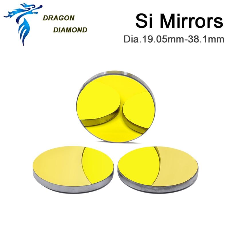 3 pz CO2 Laser Reflectiver Mirror Dia 19.05mm 20mm 25mm 30mm 38.1mm - Strumenti di misura - Fotografia 6
