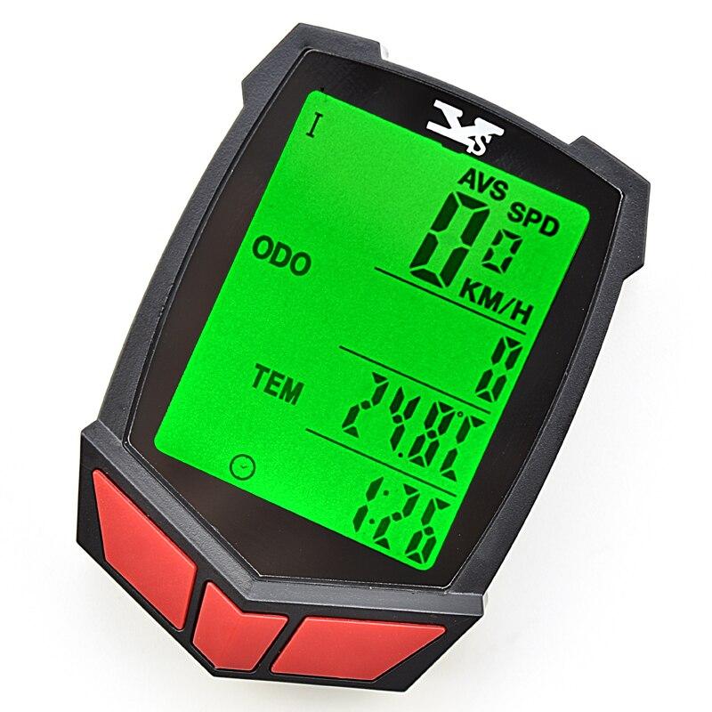 купить  Bike Bicycle Computer Speedometer Waterproof LED Cycle Cycling Odometer ZMB02  недорого