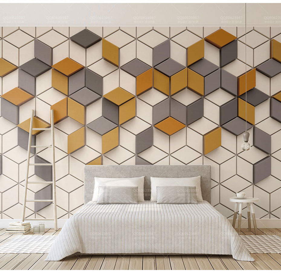 Geometry 3D Joint Mosaic Wallpaper Mural 3d Wall Photo Mural for Bedroom Background 3d Stone Mosaic Wall paper 3d Wall Mural beibehang colorful circle tv background 3d flooring wall paper mural rolls photo wallpaper for wall 3 d hotel livingroom bedroom