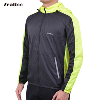 Zealtoo 2018 Mens Cycling Jackets Windproof Coat Keep Warm Green Blue Spring Autumn Winter Cycling Clothing