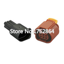 цена на 10 Sets Waterproof Connector Automotive Wire Harness Connector Connector Terminal Block Connector Wire DJ7064A-1.5-11 / 21