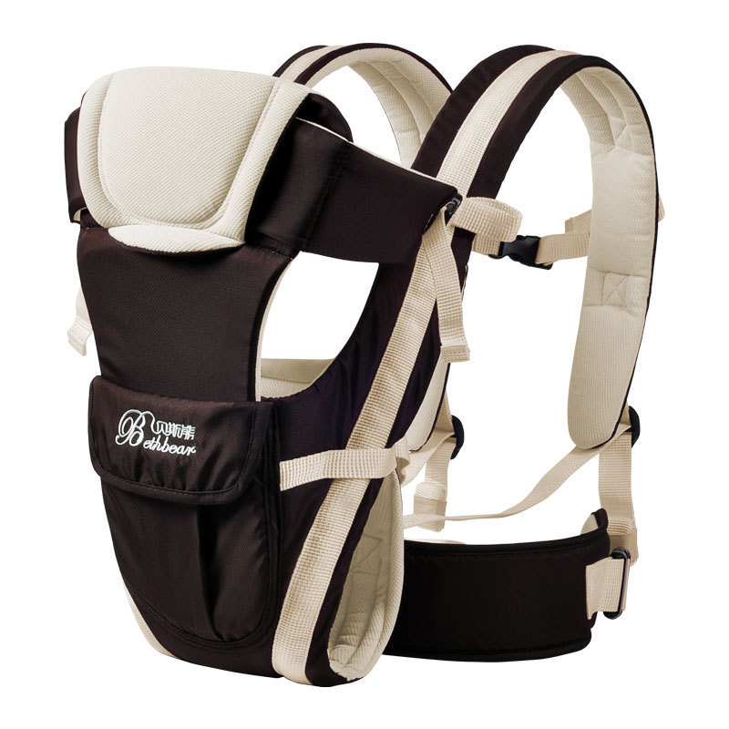 Beth Bear 0-30 months baby carrier ergonomic kids sling backpack pouch wrap Front Facing multifunctional infant kangaroo bag