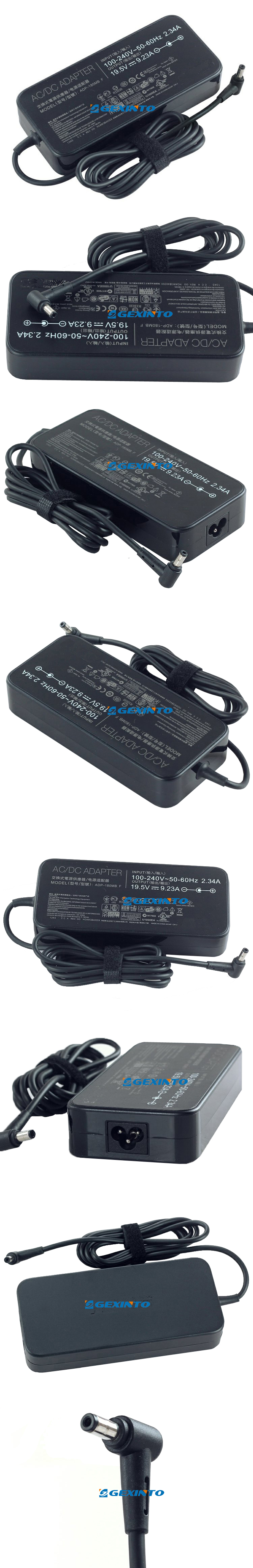 PPJ 180W AC Power Adapter Replacement for Gigabyte Aorus ADP-180MH B ADP-180MHB X3 Plus-CF2 X3-CF1 X3-CF2 X7 V2 X7-CF1 X7V2-CF1 P2742G X5 X5-CF1 Schenker XMG P501 P502 P503 P504 Series Laptop
