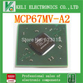 Frete grátis 1 pcs nvidia mcp67mv-a2 mcp67mv a2 chipset bga em estoque
