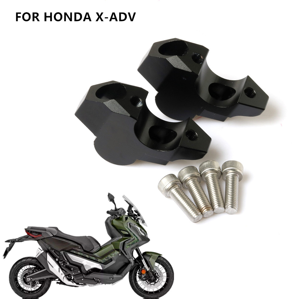 Motorcycle Handlebar Riser Up Backs Moves Bracket Kit Handle Bar Riser Mount Clamp For Honda X-ADV XADV 750 2017 2018 2019