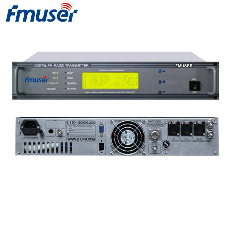 FMUSER CZH-618F Профессиональный 300 Вт PLL fm-радиопередатчик вещания компактный для fm-радиостанции DSP+ DDS AES/EBU стерео/моно