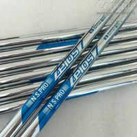 Cooyute Neue Golf welle N S PRO ZELOS 7 Golf Irons welle 10 teile/los R oder S Flex Clubs Stahl golf welle Kostenloser versand