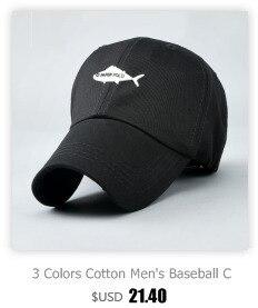 08aa0ec9257 3 Colors Cotton Men s Baseball Cap Summer Dress Customized Fish ...