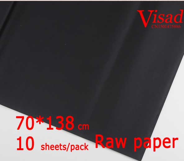black Chiese xuan paper,VISAD painting paper,70*138cm rice paper rice paper decoupage free shipping 100 pieces lot 7 colors hand made chinese rice paper for painting and decoupage 64 135cm xuan paper