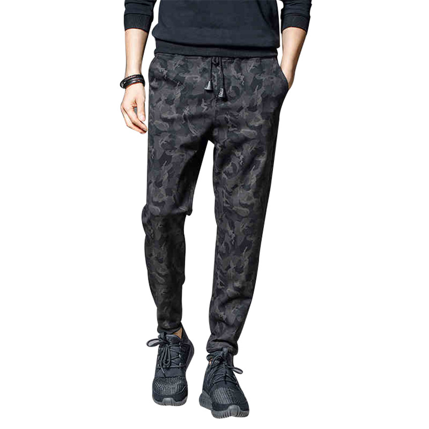 2017 New Spring Fashion Harem Pants Casual Men Camouflage ...
