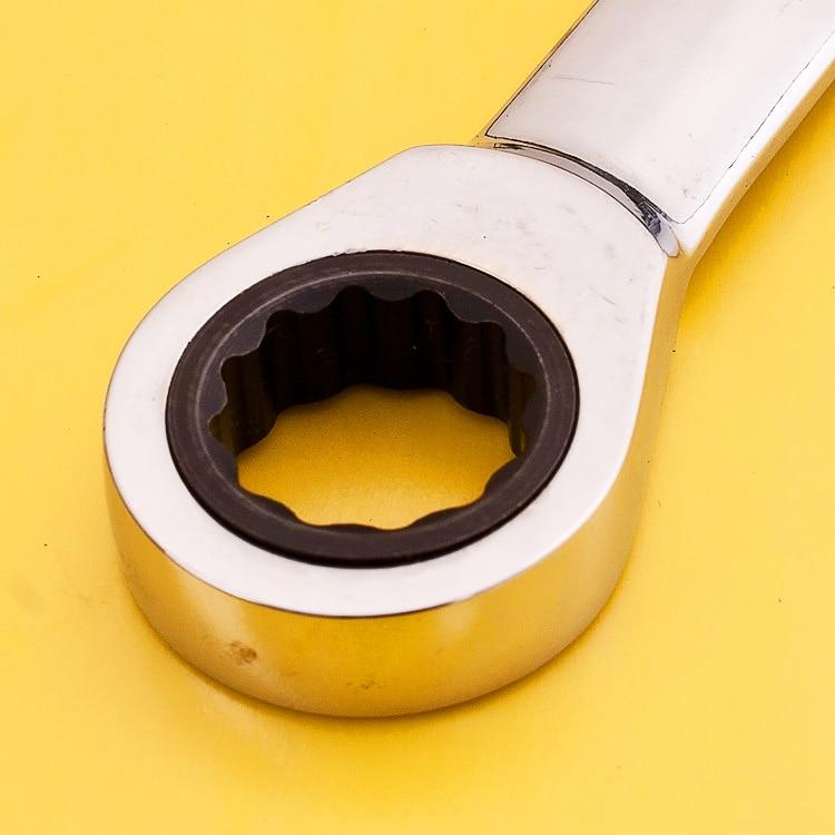 Chiave metrica a cricchetto Chiave aperta e chiavi ad anello - Utensili manuali - Fotografia 4