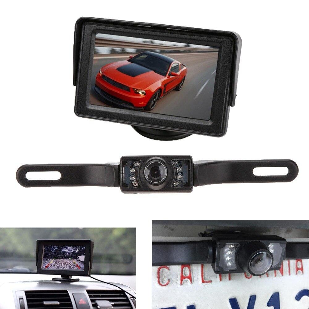 KOENBANG 1000 cd / M2 kõrge heleduse 4,3 tolli TFT LCD auto monitor - Autode Elektroonika - Foto 5