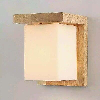 цены Modern Oak Wooden LED Wall Lamp Lights Fixtures Bedroom Indoor Lighting Stair Light Wall Sconce Arandelas Iluminalion Aplik