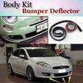Deflector de Labios Lip Bumper Para Fiat Croma 194 MK2 2005 ~ 2011 Spoiler Delantero falda Para TopGear Aficionados al Tuning/Kit de Carrocería/Strip