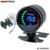 """EPMAN Auto 2 """"Digital LED EGT/Turbo Boost/Volt/Temperatura Da Água/Óleo de Imprensa/RPM/ar/Combustível/Temperatura do Óleo Medidor Medidor Com Sensor EP-GA50EXTT"""