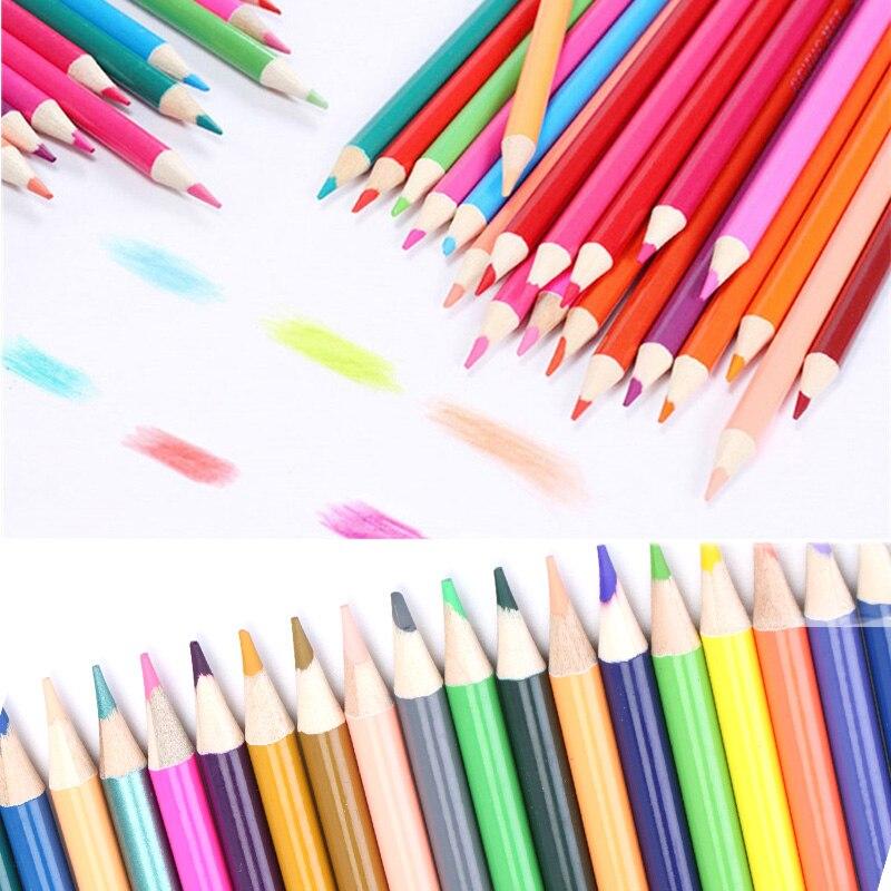 48/72/120/150/160 couleurs crayons De couleur crayons aquarelle Lapis De Cor artiste peinture fournitures scolaires croquis dessin crayon48/72/120/150/160 couleurs crayons De couleur crayons aquarelle Lapis De Cor artiste peinture fournitures scolaires croquis dessin crayon