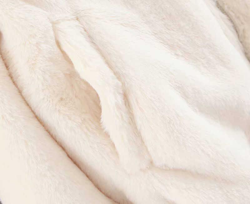 Casual Brasão da Pele Do Falso casaco De Peles mulher de beisebol jaqueta feminina Outono Inverno Quente e Macia Pelúcia Com Zíper Lapela casaco Moletom feminino