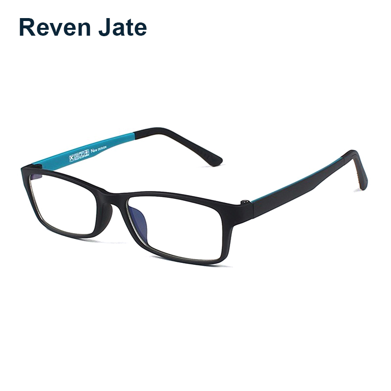 Reven Jate Tungsten Optical Spectacles Eyewear Fatigue Radiation-resistant Eyeglasses Glasses Frame Oculos de grau Men and Women