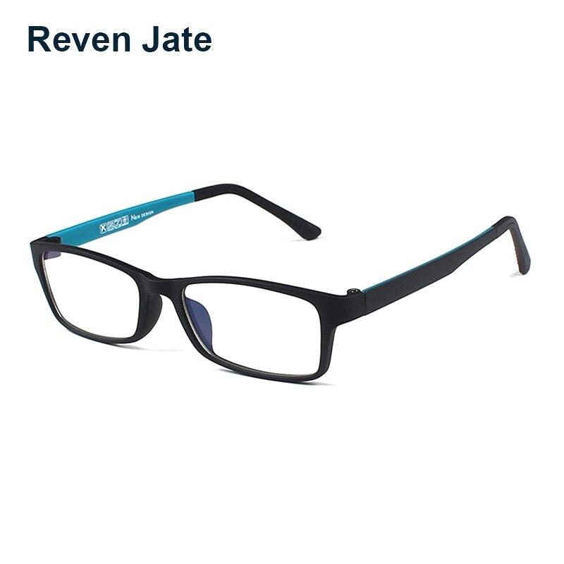 Reven jate tungstênio óculos ópticos fadiga resistente à radiação óculos armação de óculos de grau masculino e feminino