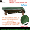 "Canopy for Swinging Summer 2 seater,Wooden garden hammocl swing seat 65.75""x43.31""/167x110cm"