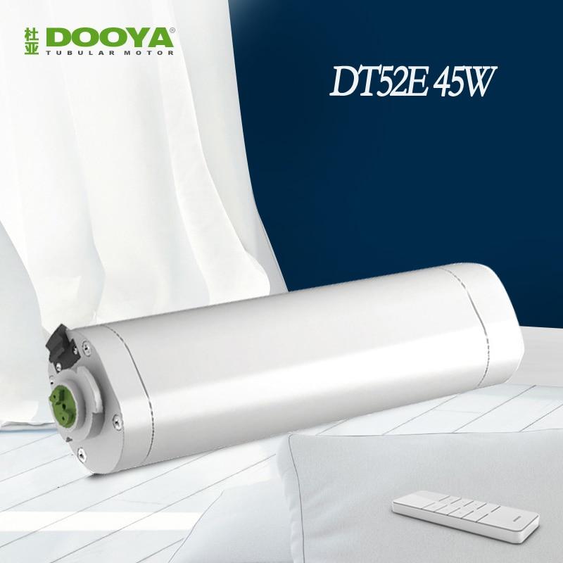 Оригинальный dooya Электрический Шторы двигателя DT52E 45 Вт + DC2700 умный дом Электрический Шторы двигатель с пульта дистанционного управления
