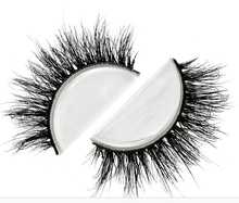 Free shipping fashion style luxury 100% real mink strip lashes lilly miami lashes natural long soft mink lashes