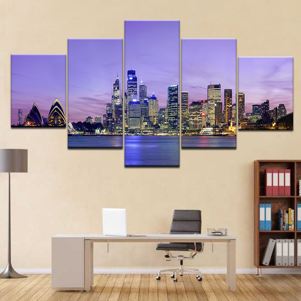 Canvas Wall Art Pictures Home Decor For Living Room 5