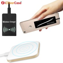 цена на Qi Wireless Charger Pad for Samsung Galaxy A8 A8+ A 8 Plus 2018 Case Mobile Accessories Power Bank QI Wireless Charging Receiver
