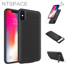 5200mAh Power Bank Cover For iPhone XS Max Battery Case External Battery Charger Cases 4200mAh For iPhone XR Power Case Audio цены