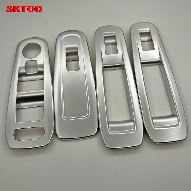 SKTOO FOR <font><b>Peugeot</b></font> 308 308S <font><b>408</b></font> modified special decorative glass lifter switch / <font><b>armrest</b></font> box refit the interior light bar image