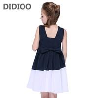 Teenage Girls Sundress For Kids Sleeveless Dresses Summer Vestido Infantil 4 10 12 14 Years Big