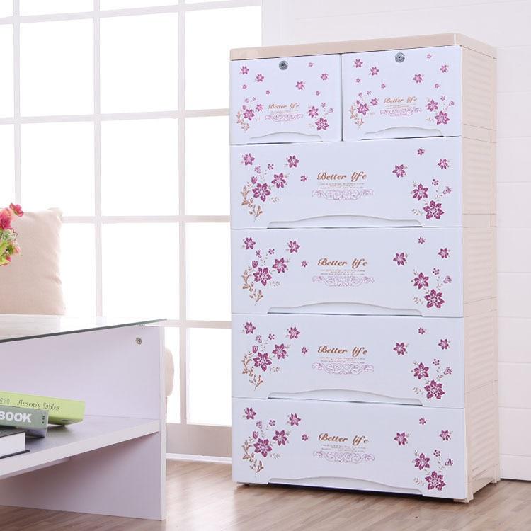 Children s clothes baby wardrobe drawer storage cabinets